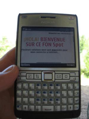 Nokia E61i Fon Fonera