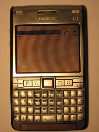 Mieux qu'un Blackberry, j'ai opté pour un Nokia E61i