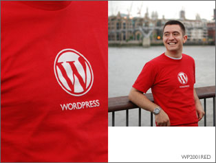 Tee-shirt WordPress