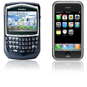blackberry 8800 Iphone