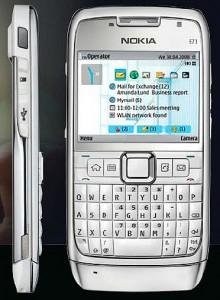smartphone gps Nokia E71