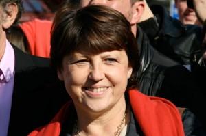 Martine Aubry Première Secrétaire Nationale du Parti Socialiste