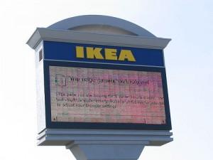 IKEA n'arrive plus à communiquer