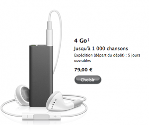 Ipod Shuffle 4GO Apple