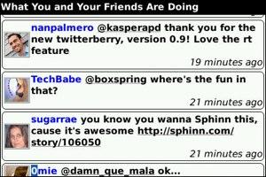 Twitterberry permet maintenant d'envoyer des photos sur Flickr depuis un Blackberry