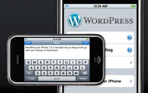 Wordpress pour iPhone