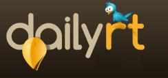 Daily RT , un site pour suivre les tweets les plus RT