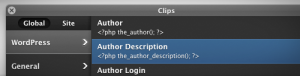 Coda compatible avec WordPress
