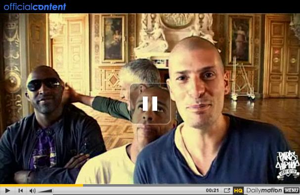Vidéo teasing de IAM pour le concert au Zenith de Paris