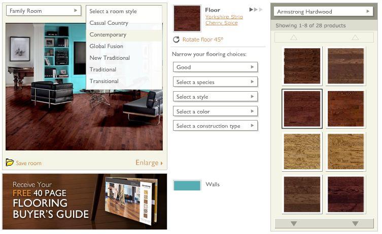 Logiciel d'aménagement et de décoration intérieure en ligne