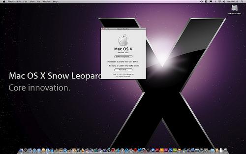 Apple snow Leopard en tête des précommandes chez Amazon