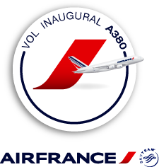 Opération caritative sur le vol inaugural de l'A380