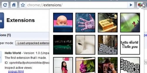 Bientôt des extension dans Google Chrome ?