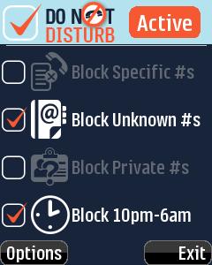Filtrer les appels sur votre Blackberry avec Do not Disturb