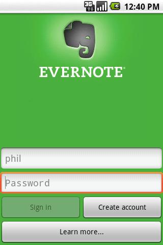 Evernote bientôt disponible sur Android