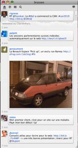 ITSY client twitter basique pour mac