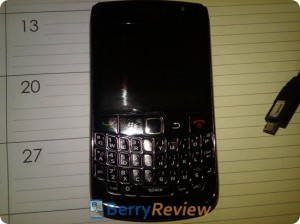 1ère photo du blackberry 8910
