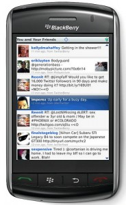 Ubertwitter 6 béta sur Blackberry
