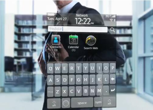 Blackberry OS 6 en vidéo