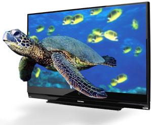 La vidéo de la TV 3d LED de Samsung