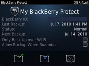 Rim va lancer Blackberry Protect