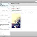 Sparrow : un nouveau client mail pour MAC