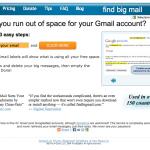 Find Big Mail vous permet de faire du ménage sur votre Gmail