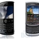 Photos et caractéristiques des nouveaux Blackberrys Torch 2 et Curve