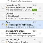 Lancement de l'application GMAIL pour iPhone et iPad