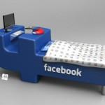Le lit Facebook