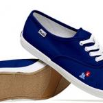 Des chaussures à l'effigie des réseaux sociaux